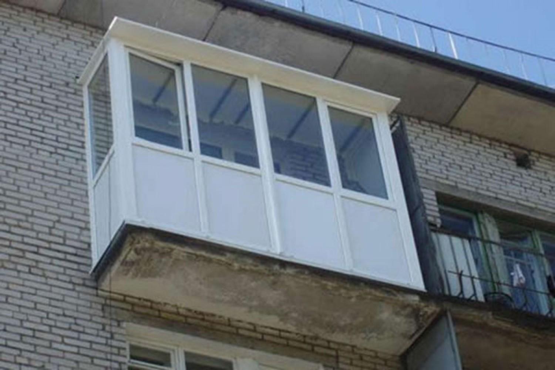 Остекление балконов в хрущевке: цена решений, фото галерея у.